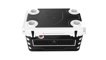 Wet Sounds Stealth SHIVR-55-WHT White High Output Audio Cooler Speaker System & Gator Step Kit