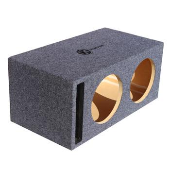 "Memphis Audio 15-PE2X12V2 Dual 12"" Ported Enclosure"