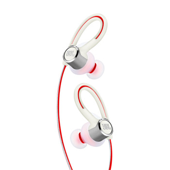 JBL Reflect Contour 2 Secure fit Wireless Sport Headphones - White