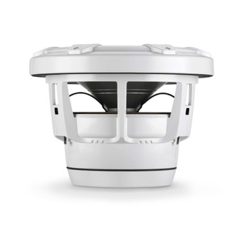 JL Audio M8W5-CG-WH: 8-Inch (200 mm) Marine Subwoofer Driver White Classic Grilles - Open Box