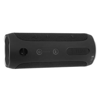 JBL Flip 4 full-featured waterproof portable Bluetooth speaker with surprisingly powerful sound – Black