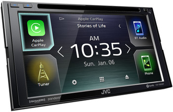 JVC KW-V850BT compatible with Android Auto / CarPlay CD/DVD Stereo / Bluetooth - Open Box