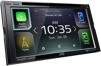 JVC KW-V85BT compatible with Android Auto / CarPlay CD/DVD Stereo / Bluetooth - Used Very Good