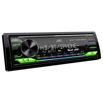 JVC KD-X470BHS Digital Media Receiver Bluetooth, USB, HD Radio, 13-Band EQ, SiriusXM Ready, Compatible With Amazon Alexa - Used Good