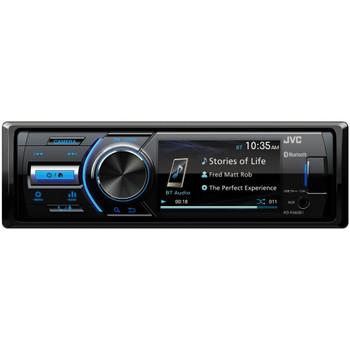 "JVC KD-X560BT 1-DIN Digital Media Receiver With Bluetooth, USB, 3"" Display, & Coated PCB - Open Box"