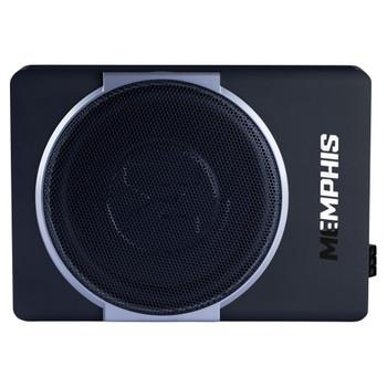 "Memphis Audio MXA110SPD 10"" Nanobox MXA Underseat Powered Marine Grade Subwoofer - Open Box"
