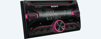 Sony WX-920BT Double DIN CD Receiver with BLUETOOTH Wireless Technology - Open Box