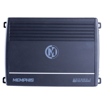 Memphis Audio SRX250.1 Street Reference Series Mono Subwoofer Amplifier 250 Watts RMS x 1 at 2-Ohms - Open Box