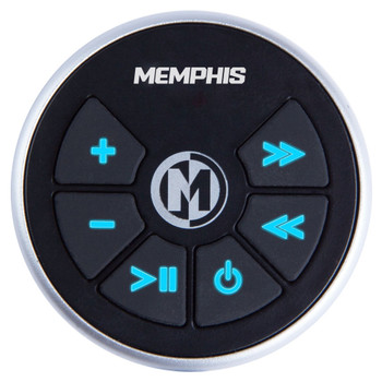 Memphis Audio MXA1MCR MXA1MC Wired Remote Compatible With The MXA1MC Gauge Style Media Center. - Used Very Good