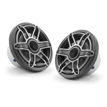 JL Audio 6.5-Inch M6 Marine Coaxial Speaker System, Gunmetal & Titanium, Sport Grille - SKU: M6-650X-S-GmTi - Used Very Good