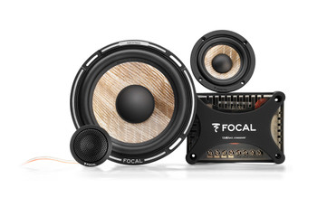 """Focal PS165F3 FLAX 6.5"""" 3-way component kit, RMS: 80W - MAX: 160W - Open Box"""