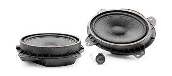 """Focal IS690TOY Integration Series 2-Way 6"""" x 9"""" Component Speaker Kit for Toyota - Used Very Good"""