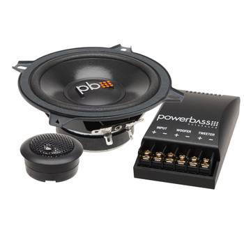 """PowerBass S-50C - 5.25"""" Component OEM Replacement Speakers - Pair"""