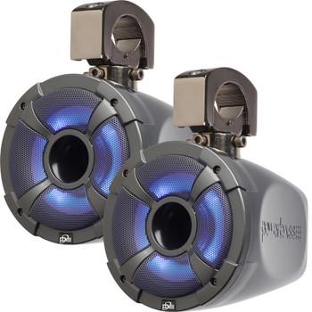 "PowerBass XL-POD6LR - 6.5"" Long Range Pod Speaker System with RGB LED - Pair"