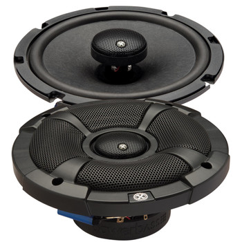 """PowerBass 2XL-653T - 6.5"""" Shallow Mount Coaxial Speakers - Pair"""