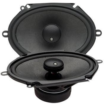 "PowerBass 2XL-683 - 6x8"" Coaxial Speakers - Pair"
