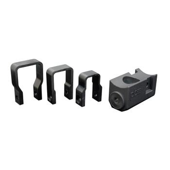 "PowerBass XL-SBSCLAMP - Thin Square Clamp for XL Soundbars; 0.75"", 1.0"", 1.25"" - Pair"