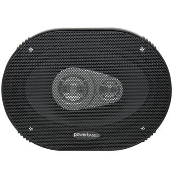 "PowerBass L2-693 - 6x9"" 3-Way Speaker 2-Ohm - Pair"