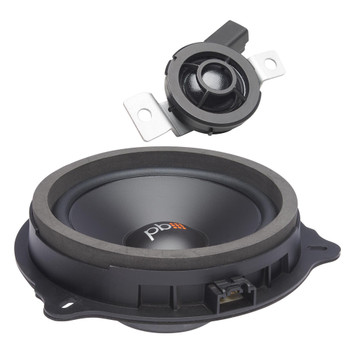 "PowerBass OE65C-FD - 6.5"" Ford OEM Replacement Component Speakers - Pair"