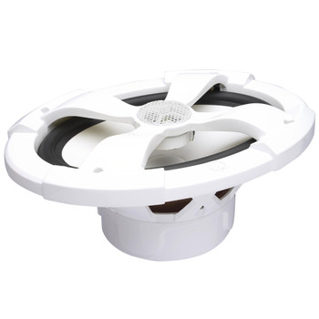 """PowerBass XL-69M - 6x9"""" Marine Coaxial Speakers with RGB LEDs - Pair"""