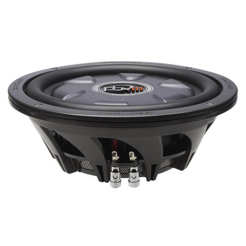 "PowerBass XL-1040T - 10"" Single 4-Ohm Shallow Mount Subwoofer"