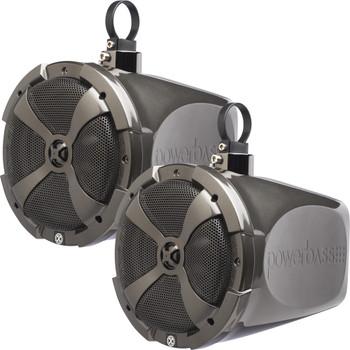"PowerBass XL-POD8SR - 8"" Short Range Pod Speaker System - Pair"
