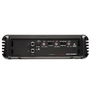 PowerBass XMA-2405IR - 400 Watt x 2 @ 2-Ohm Full Range Digital Amplifier
