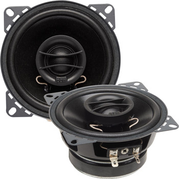 """PowerBass S-4002 - 4"""" Coaxial OEM Replacement Speakers - Pair"""