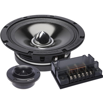 "PowerBass 4XL-65C - 6.5"" Shallow Mount Midrange Comp. Set"