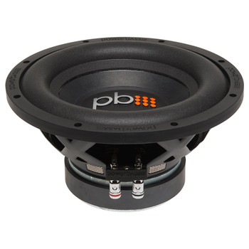 "PowerBass S-1004 - 10"" Single 4-Ohm Subwoofer"