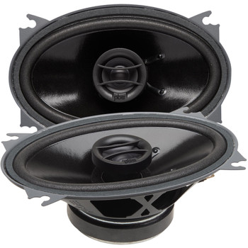 """PowerBass S-4602 - 4x6"""" Coaxial OEM Replacement Speakers - Pair"""