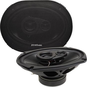 "PowerBass S-6903 - 6x9"" 3-Way OEM Replacement Speakers - Pair"