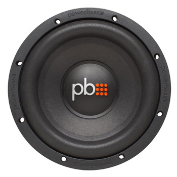 "PowerBass S-84 - 8"" Single 4-Ohm Subwoofer"