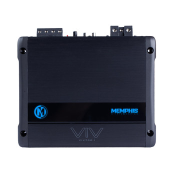 Memphis Audio VIV700.1 Refurbished SixFive Series mono subwoofer amplifier — 700 watts RMS x 1 at 1 ohm