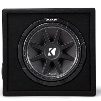 Kicker 43VC124 Comp 12-inch Subwoofer in Ported Enclosure, 4-Ohm - Used Very Good