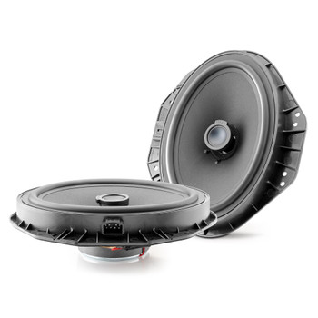 """Focal Ford Bundle: 1 Pair of Focal ISFORD690 2-Way 6x9"""" Component Kit and 1 Pair of Focal ICFORD690 2-Way 6x9"""" Coaxial Kit"""