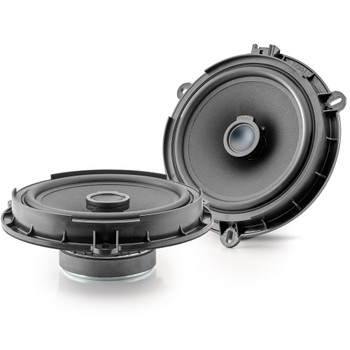 """Focal Ford Bundle: 2 Pairs of Focal ICFORD165 2-Way 6.5"""" Coaxial Kit for Ford"""