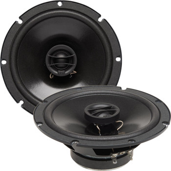 """PowerBass S-650T - 6.5"""" Coaxial Shallow Mount OEM Speakers - Pair"""