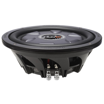 "PowerBass XL-1040TD - 10"" Dual 4-Ohm Shallow Mount Subwoofer"