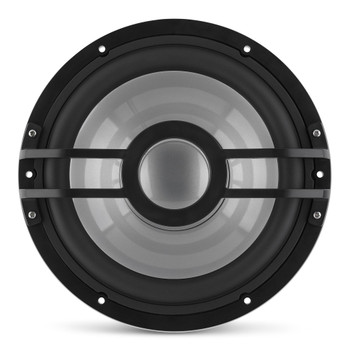Clarion CMSP-101RGB-4 10-inch, 4-Ohm Marine Subwoofer  with built-in RGB illumination 250W RMS power handling Grille Sold Separately