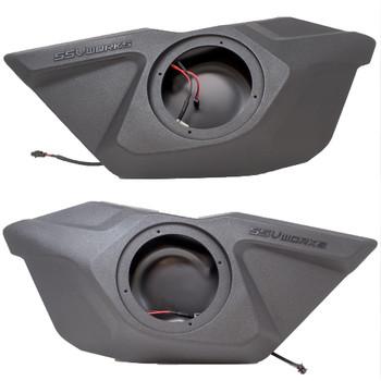 """Polaris RZR Pro XP Door 6.5"""" Speaker Pods - Unloaded"""