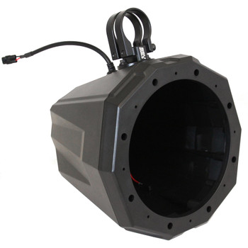 """SSV Works US2-C8U-175 Universal Cage Mount 8"""" Speaker Enclosures With 1.75"""" Roll Bar Clamps"""