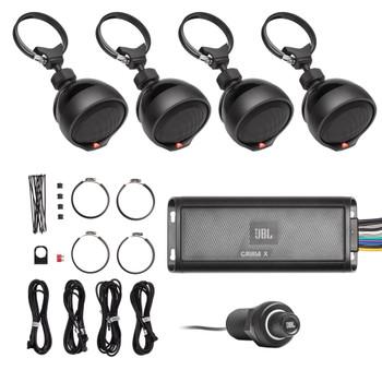 JBL CRUISEX Weather-Resistant 4-Channel Multi-Application UTV Bluetooth Audio System