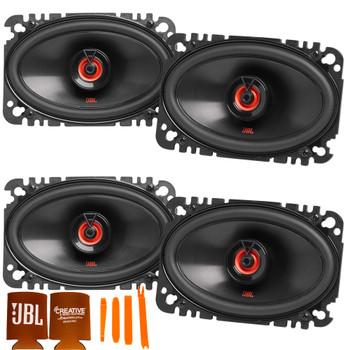 """JBL 2-Pairs CLUB-6422FAM 4x6"""" Two-way Car Audio Speaker (No Grill)"""