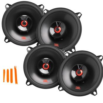 "JBL 2-Pairs CLUB-522FAM 5.25"" Two-way Car Audio Speaker (No Grill)"