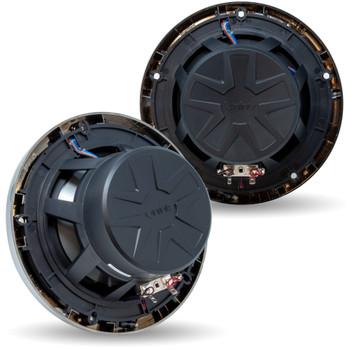 "Infinity 3 Pairs of 6MBLCR Infinity OEM Replacement Black Chrome 6.5"" Marine Speaker"