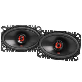 "JBL 1 Pair of CLUB-620FAM 6.5"" Shallow Coax Speakers (No Grill) and 1 Pair of CLUB-6422FAM 4x6"" Coax Speakers"