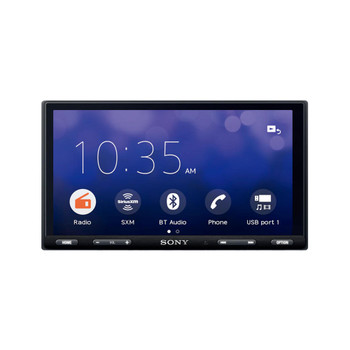 """Sony XAV-AX5500 6.95"""" (17.6-cm) BLUETOOTH® Media Receiver with PAC Audio SWI-CP2 Universal Analog/CAN-Bus Steering Wheel Control Interface"""