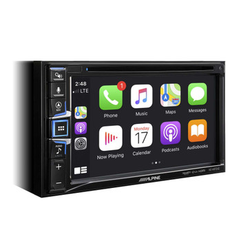 Alpine Bundle- 7-Inch Nav Receiver and iDatalink KIT-CHK1 2014-up Jeep Cherokee Installation Kit