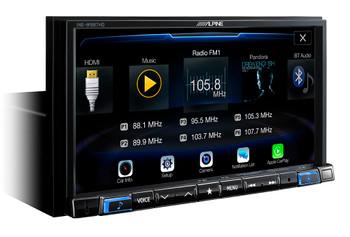 "Alpine Bundle- 7-Inch Nav Receiver with PAC RPK4-CH4101 2013-19 Ram Truck W/8"" Screen Installation Kit"